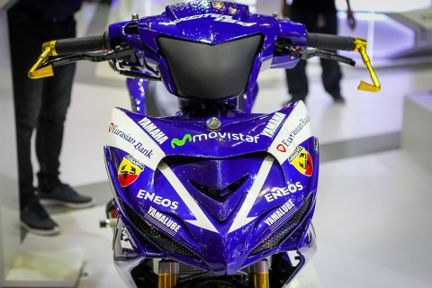 Chi tiet Exciter 150 do phong cach sieu moto YZR-M1 hinh anh 3