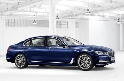 BMW gioi thieu sedan hang sang 7-Series phien ban dac biet hinh anh