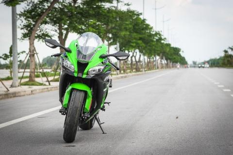 Kawasaki ZX-10R 2016 dau tien tai Ha Noi gia hon 500 trieu hinh anh 3