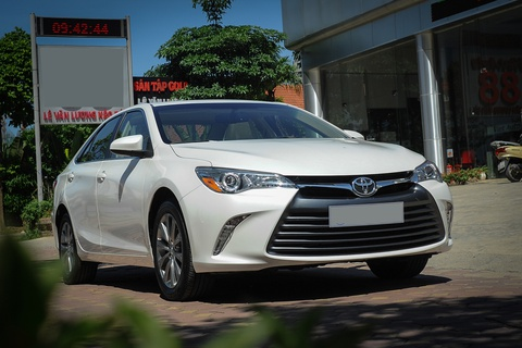 thong so camry xle 2016 hinh anh