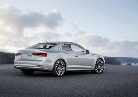 Audi A5 coupe moi cong suat tu 190 ma luc hinh anh 3