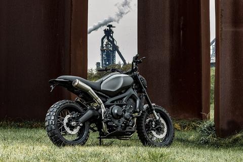 Yamaha XSR900 do phong cach chien binh duong pho hinh anh 8