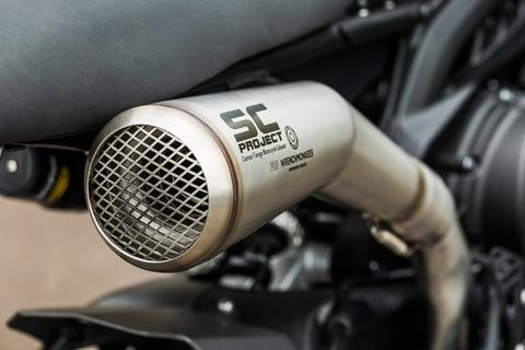 Yamaha XSR900 do phong cach chien binh duong pho hinh anh 7