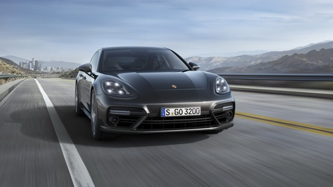 Porsche Panamera 2017 thay doi thiet ke, dong co hinh anh 3