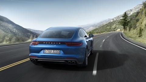 Porsche Panamera 2017 thay doi thiet ke, dong co hinh anh 10