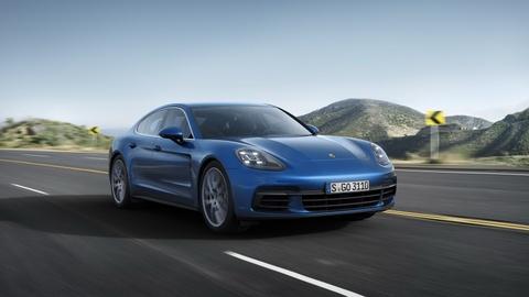 Porsche Panamera 2017 thay doi thiet ke, dong co hinh anh 11