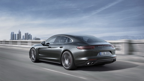 Porsche Panamera 2017 thay doi thiet ke, dong co hinh anh 9