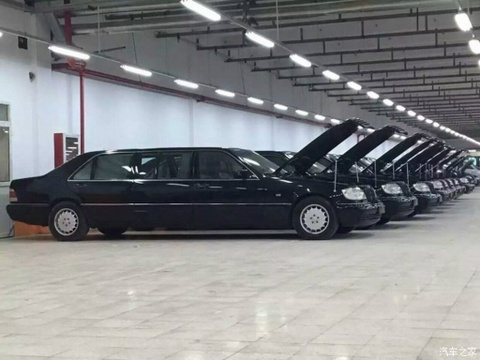 mercedes benz s500l pullman hinh anh