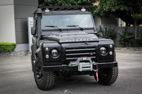 Xe off-road Land Rover Defender hon 2 ty ve Viet Nam hinh anh 2