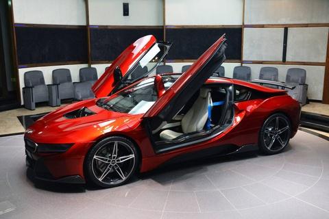 BMW i8 doc nhat vo nhi cua cong chua Abu Dhabi hinh anh 6