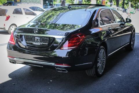 Chi tiet xe sang Mercedes-Maybach S500 tai Ha Noi hinh anh 3
