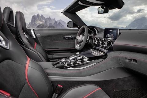 Mercedes trinh lang xe mui tran GT C Roadster AMG 2017 hinh anh 7