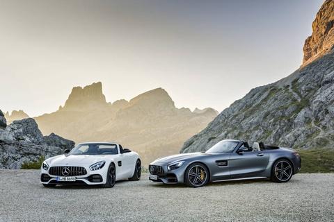 Mercedes trinh lang xe mui tran GT C Roadster AMG 2017 hinh anh 3