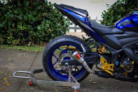 Yamaha YZF-R3 len nhieu do choi cua biker Viet hinh anh 9
