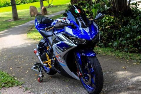 Yamaha YZF-R3 len nhieu do choi cua biker Viet hinh anh 1