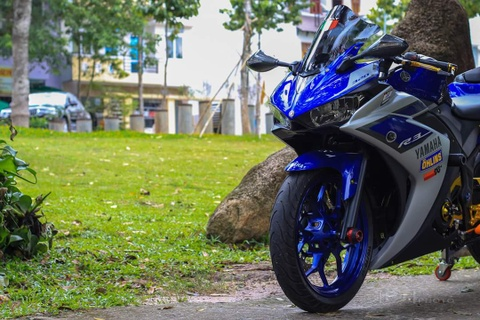 Yamaha YZF-R3 len nhieu do choi cua biker Viet hinh anh 8