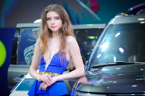 Dan chan dai tai Vietnam Motor Show 2016 hinh anh 1