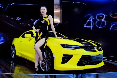Dan chan dai tai Vietnam Motor Show 2016 hinh anh 16