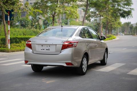 Toyota Vios 1.5E CVT 2016 gia 588 trieu hinh anh 2