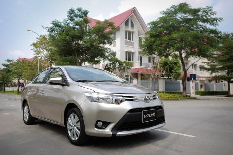 Toyota Vios 1.5E CVT 2016 gia 588 trieu hinh anh 1