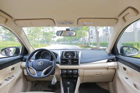 Toyota Vios 1.5E CVT 2016 gia 588 trieu hinh anh 7