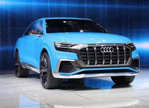 Audi Q8 concept: Thach thuc moi cua BMW X6 hinh anh