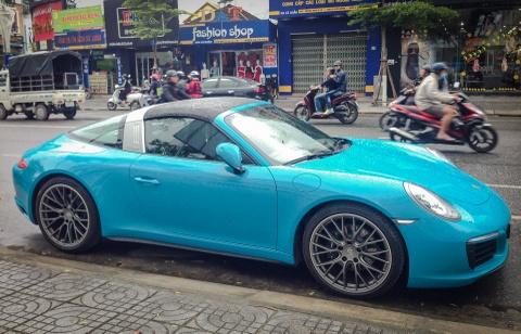 Porsche 911 Targa 4 2016 gia gan 8 ty ve tay dai gia Da Nang hinh anh