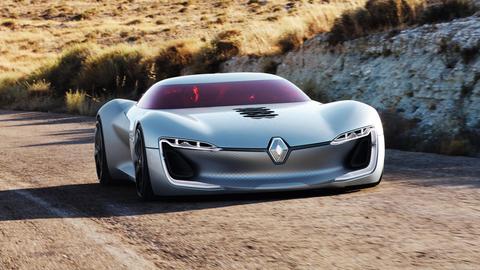Renault Trezor - xe concept cua tuong lai hinh anh 1
