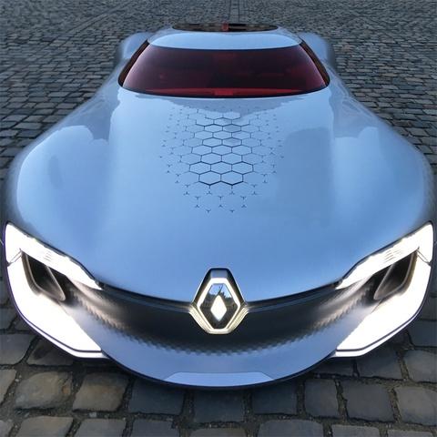 Renault Trezor - xe concept cua tuong lai hinh anh 3