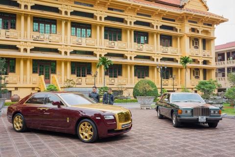 Cap xe Rolls-Royce doc nhat Viet Nam cung nhau khoe dang hinh anh