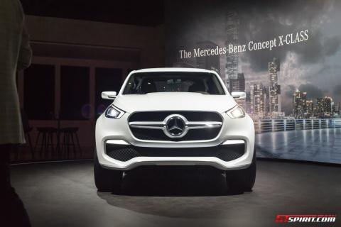 Mercedes-Benz trung bay xe ban tai hang sang X-Class concept hinh anh 3