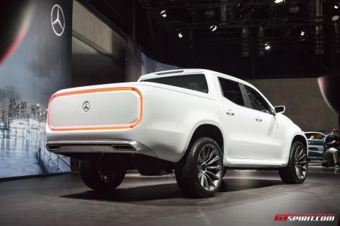 Mercedes-Benz trung bay xe ban tai hang sang X-Class concept hinh anh 4