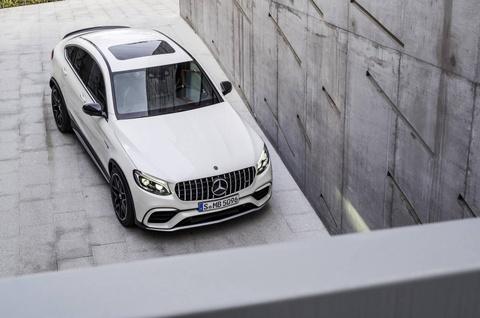 Mercedes GLC 63 AMG 2018 cong suat tu 476 ma luc hinh anh 3