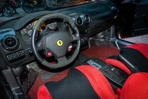 Sieu xe Ferrari F430 Scuderia doc nhat Viet Nam xuong pho hinh anh 7