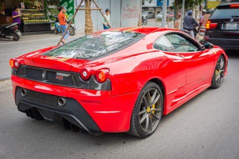 Sieu xe Ferrari F430 Scuderia doc nhat Viet Nam xuong pho hinh anh 4