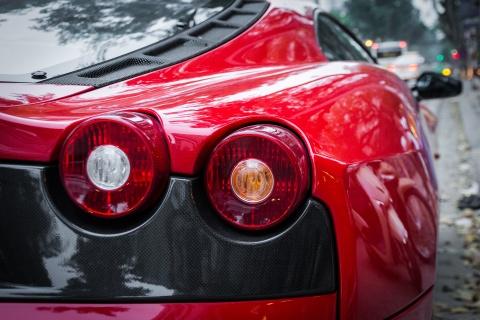 Sieu xe Ferrari F430 Scuderia doc nhat Viet Nam xuong pho hinh anh 5