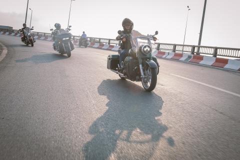 Biker Viet chay Sai Gon ra Ha Noi trong 3 ngay hinh anh 8