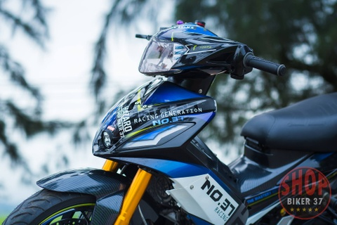 Yamaha Exciter 135 do nhieu do choi khung tai Nghe An hinh anh 3