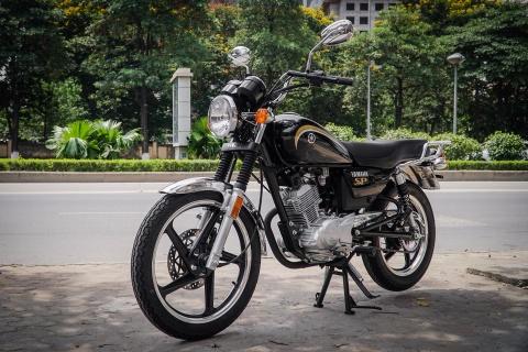 Xe con tay Yamaha 125 phan khoi, gia hon 40 trieu tai Ha Noi hinh anh