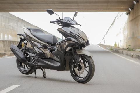 Yamaha NVX 155 Camo phoi mau phong cach nha binh hinh anh