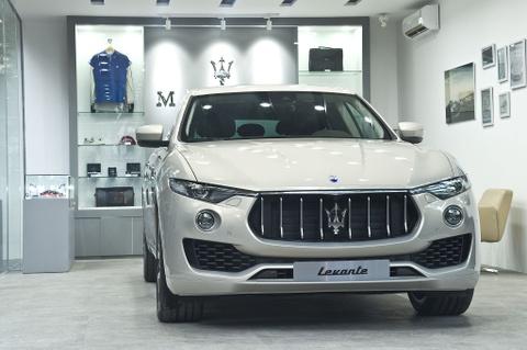 Maserati mang SUV hang sang hon 6 ty den Ha Noi hinh anh