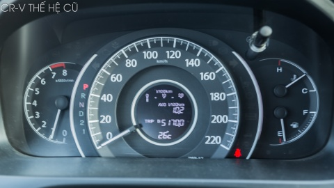 Honda CR-V moi lot xac so voi the he cu hinh anh 15