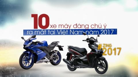 10 xe may moi dang chu y ra mat tai Viet Nam 2017 hinh anh 1