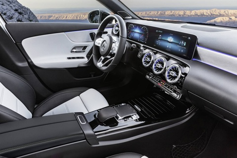 Mercedes-Benz A-Class 2018 thay doi dien mao, len ke thang 3 hinh anh 9