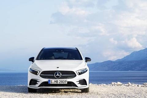 Mercedes-Benz A-Class 2018 thay doi dien mao, len ke thang 3 hinh anh 11