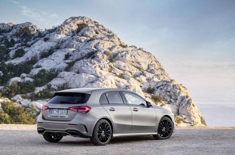 Mercedes-Benz A-Class 2018 thay doi dien mao, len ke thang 3 hinh anh 13