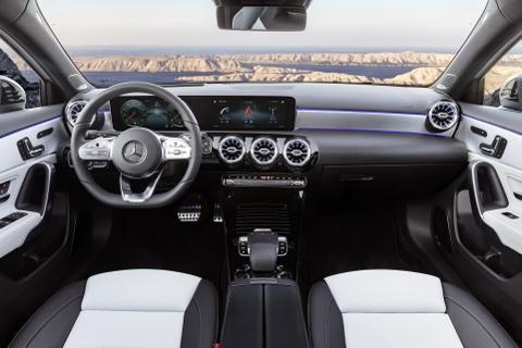 Mercedes-Benz A-Class 2018 thay doi dien mao, len ke thang 3 hinh anh 6