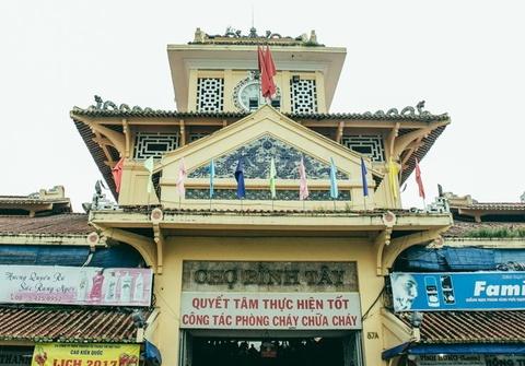 Cho Binh Tay duoc xep hang di tich cap thanh pho hinh anh