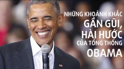 nhung khoanh khac hai huoc cua obama hinh anh