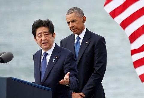 Thu tuong Abe o Tran Chau Cang: Toi thay minh cam lang hinh anh